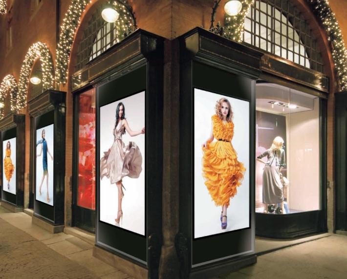 Display per vetrine